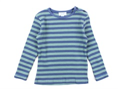 Noa Noa Miniature t-shirt rib art blue